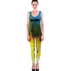 Watercolor Abstract OnePiece Catsuits