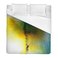 Watercolor Abstract Duvet Cover Single Side (Twin Size)
