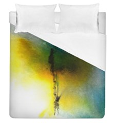 Watercolor Abstract Duvet Cover Single Side (Full/Queen Size)