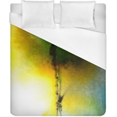 Watercolor Abstract Duvet Cover Single Side (Double Size)