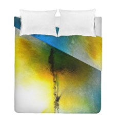 Watercolor Abstract Duvet Cover (Twin Size)