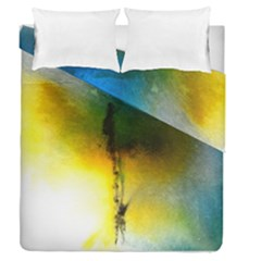 Watercolor Abstract Duvet Cover (Full/Queen Size)