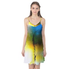 Watercolor Abstract Camis Nightgown