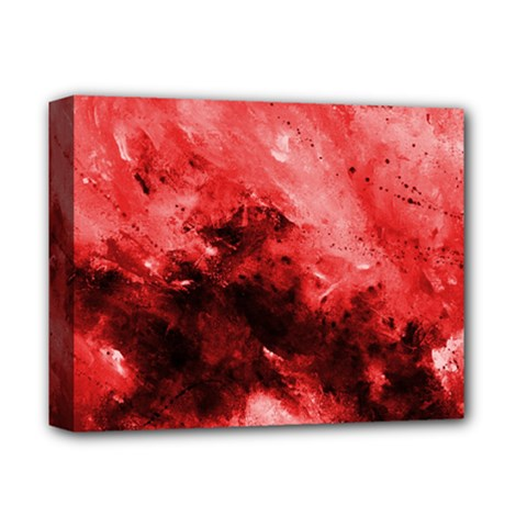 Red Abstract Deluxe Canvas 14  X 11  by timelessartoncanvas