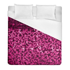 Pink Cubes Duvet Cover Single Side (twin Size) by timelessartoncanvas