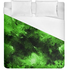 Bright Green Abstract Duvet Cover Single Side (kingsize)