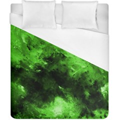 Bright Green Abstract Duvet Cover Single Side (double Size)