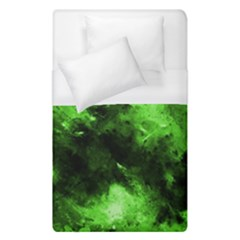 Bright Green Abstract Duvet Cover Single Side (single Size)