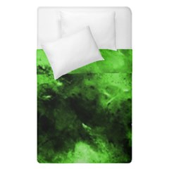 Bright Green Abstract Duvet Cover (single Size)