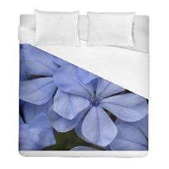Bright Blue Flowers Duvet Cover Single Side (twin Size) by timelessartoncanvas