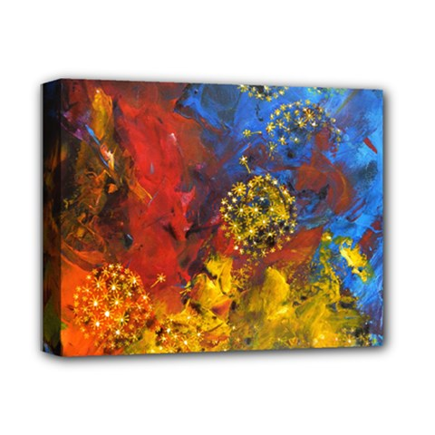Space Pollen Deluxe Canvas 14  X 11  by timelessartoncanvas