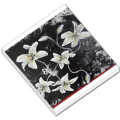 Black And White Lilies Small Memo Pads