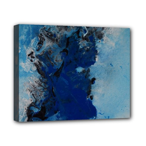Blue Abstract No 2 Canvas 10  X 8