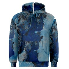 Blue Abstract No 2 Men s Pullover Hoodies by timelessartoncanvas
