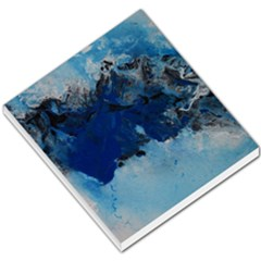 Blue Abstract No 5 Small Memo Pads