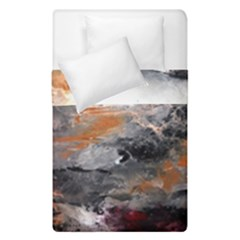 Natural Abstract Landscape Duvet Cover (single Size) by timelessartoncanvas