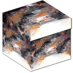 Natural Abstract Landscape No  2 Storage Stool 12