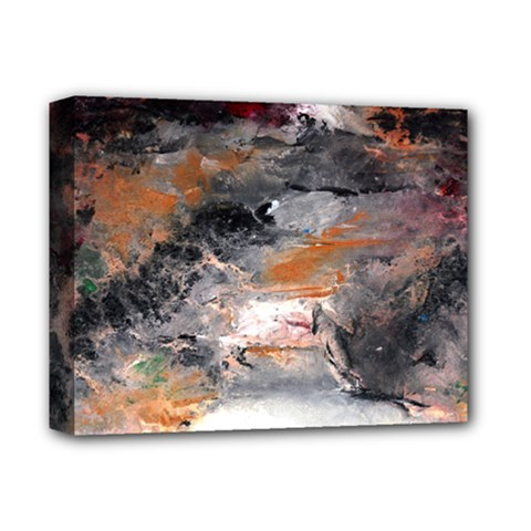 Natural Abstract Landscape No  2 Deluxe Canvas 14  X 11  by timelessartoncanvas
