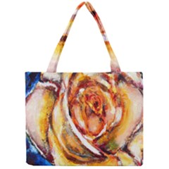 Abstract Rose Tiny Tote Bags by timelessartoncanvas