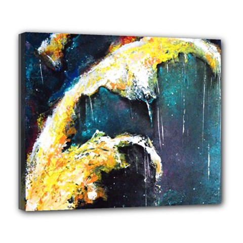 Abstract Space Nebula Deluxe Canvas 24  X 20   by timelessartoncanvas