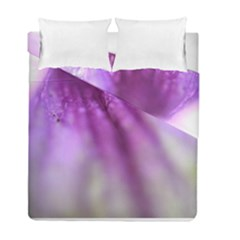 Purple Flower Pedal Duvet Cover (twin Size)