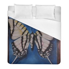 Butterfly Duvet Cover Single Side (twin Size) by timelessartoncanvas
