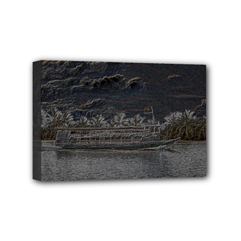 Boat Cruise Mini Canvas 6  X 4  by InsanityExpressed