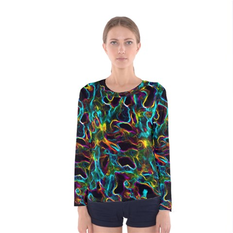 Soul Colour Women s Long Sleeve T-shirts by InsanityExpressed