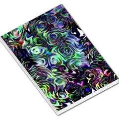 Colour Play Flowers Large Memo Pads by InsanityExpressed