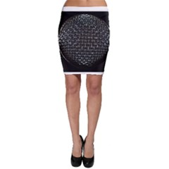 Modern Microphone Bodycon Skirts by timelessartoncanvas