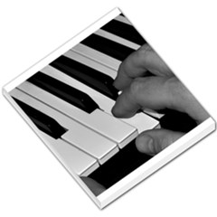 The Piano Player Small Memo Pads by timelessartoncanvas