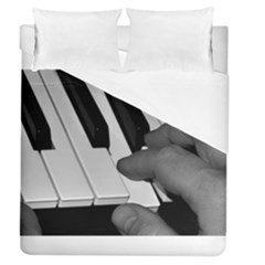 The Piano Player Duvet Cover Single Side (full/queen Size)