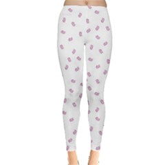 Officially Sexy Os Collection Pink & White Leggings  by OfficiallySexy