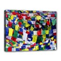 Tibetan Buddhist Prayer Flags Canvas 16  x 12  View1
