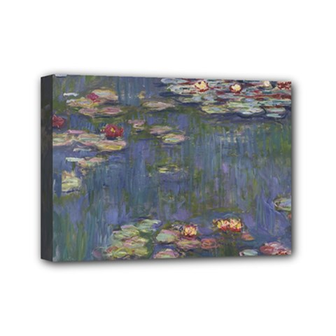 Claude Monet   Water Lilies Mini Canvas 7  X 5  by ArtMuseum