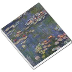 Claude Monet   Water Lilies Small Memo Pads by ArtMuseum