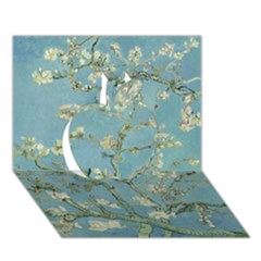 Almond Blossom Tree Apple 3d Greeting Card (7x5)  by ArtMuseum