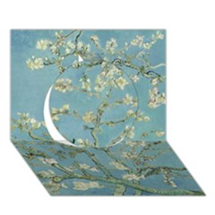 Almond Blossom Tree Circle 3d Greeting Card (7x5)  by ArtMuseum