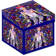 Robot Butterfly Storage Stool 12   by icarusismartdesigns