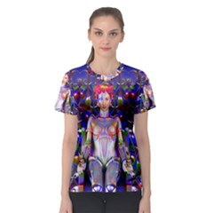 Robot Butterfly Women s Sport Mesh Tees by icarusismartdesigns