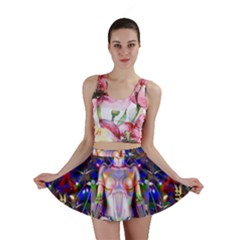 Robot Butterfly Mini Skirts by icarusismartdesigns