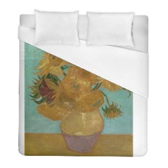 Vincent Willem Van Gogh, Dutch   Sunflowers   Google Art Project Duvet Cover Single Side (twin Size) by ArtMuseum