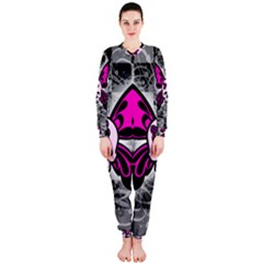 Skull Butterfly Onepiece Jumpsuit (ladies)