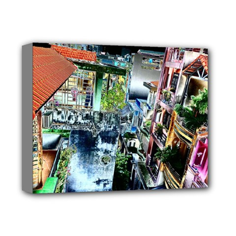 Colour Street Top Deluxe Canvas 14  X 11  by InsanityExpressed