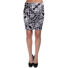 Coloring70swallpaper Bodycon Skirts by KirstenStarFashion