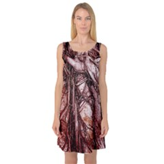The Bleeding Tree Sleeveless Satin Nightdresses