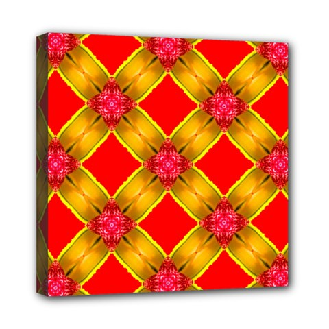Cute Pretty Elegant Pattern Mini Canvas 8  x 8