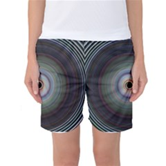Colour Twirl Women s Basketball Shorts by InsanityExpressedSuperStore