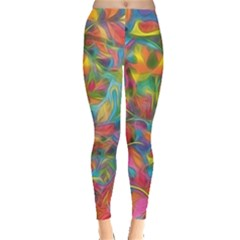 Colorful Autumn Leggings  by KirstenStarFashion