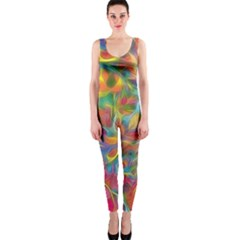 Colorful Autumn Onepiece Catsuit by KirstenStarFashion